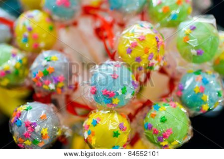 Colorful And Joyfull Lollipops