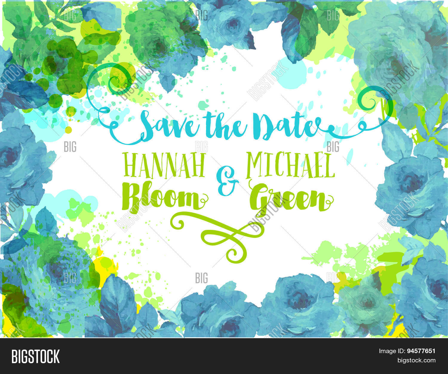 Wedding Invitation - Invitation, Vector & Photo | Bigstock