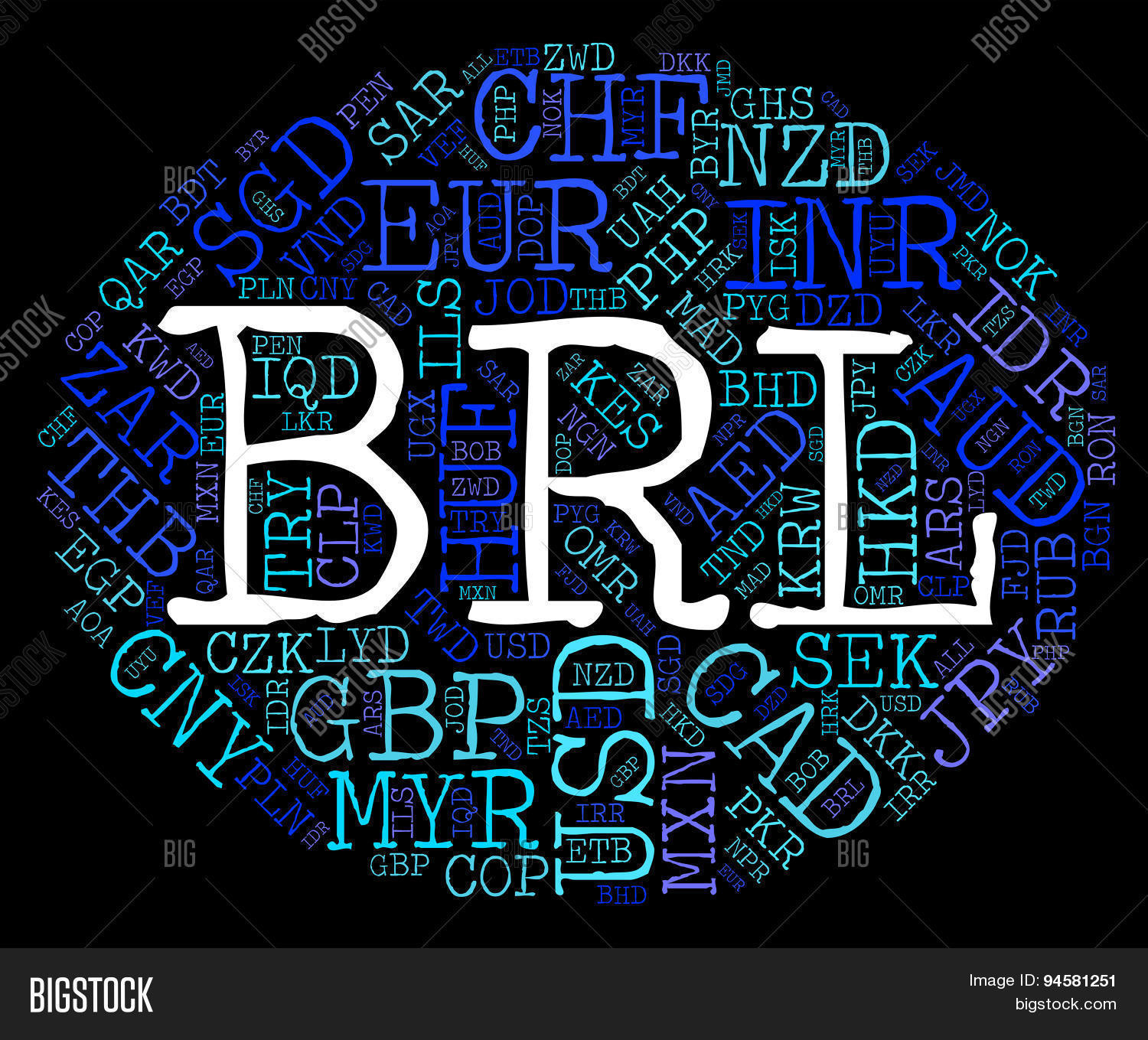 Brl Currency Image Photo Free Trial Bigstock