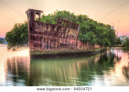 Sydney Shipwreck