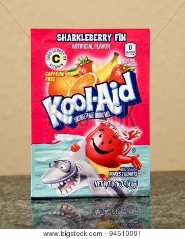 Package Of Sharkleberry Fin Kool-aid