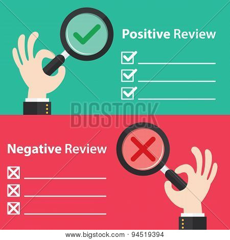 Positive And Negative Review