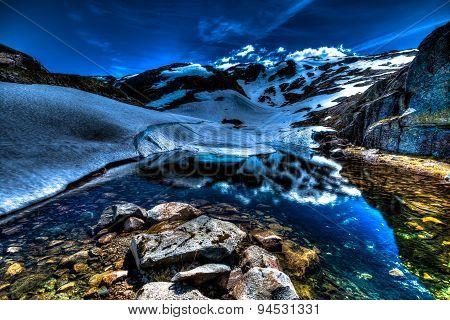 Folgefonna glacier