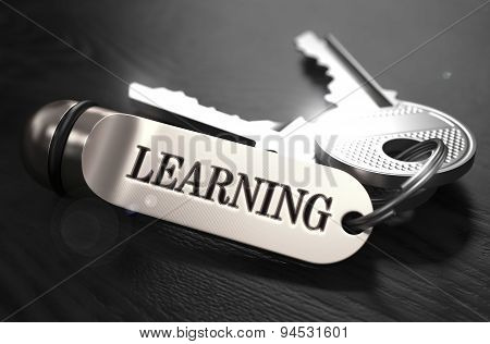 Learning Concept. Keys with Keyring.