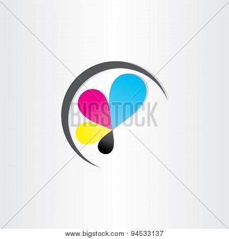 Printing Icon Printhouse Ink Symbol