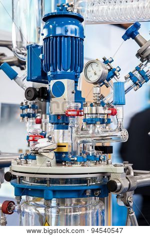 Chemical Processing Reactor Systems Closeup