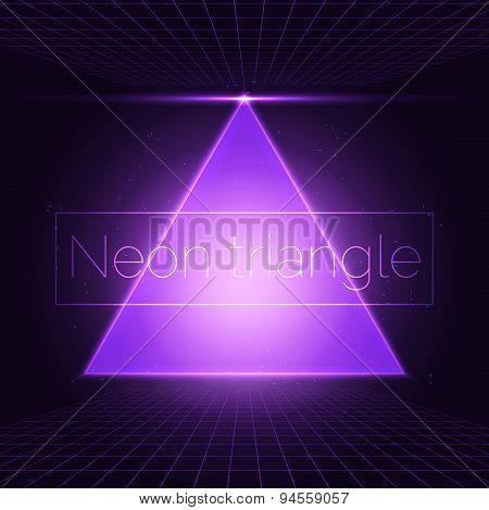 Neon triangle