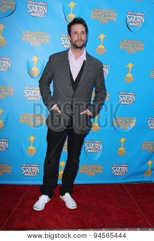 LOS ANGELES - JUN 25:  Noah Wyle at the 41st Annual Saturn Awards Arrivals at the The Castaways on June 25, 2015 in Burbank, CA