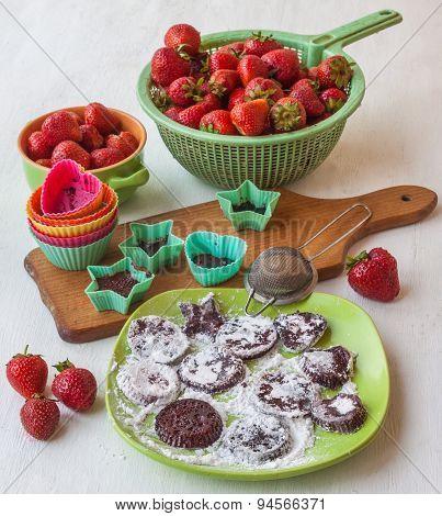 Cooking Pastilles Of Strawberries