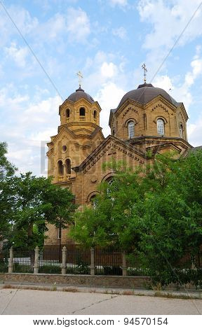 The Church Of St. Elijah In Yevpatoria. Crimea.