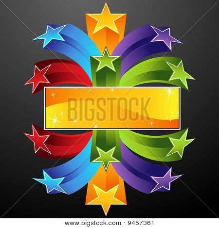 Arching Star Banner