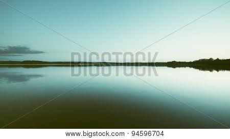 Night on a Lake