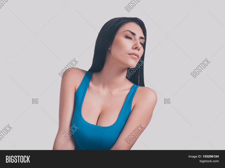 Big women cleavage
