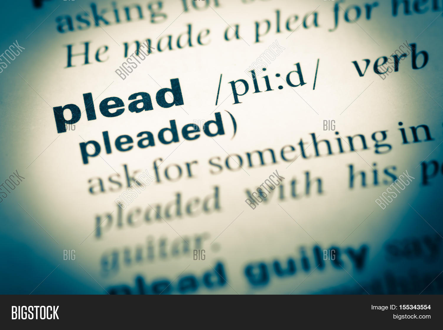 another word for plead