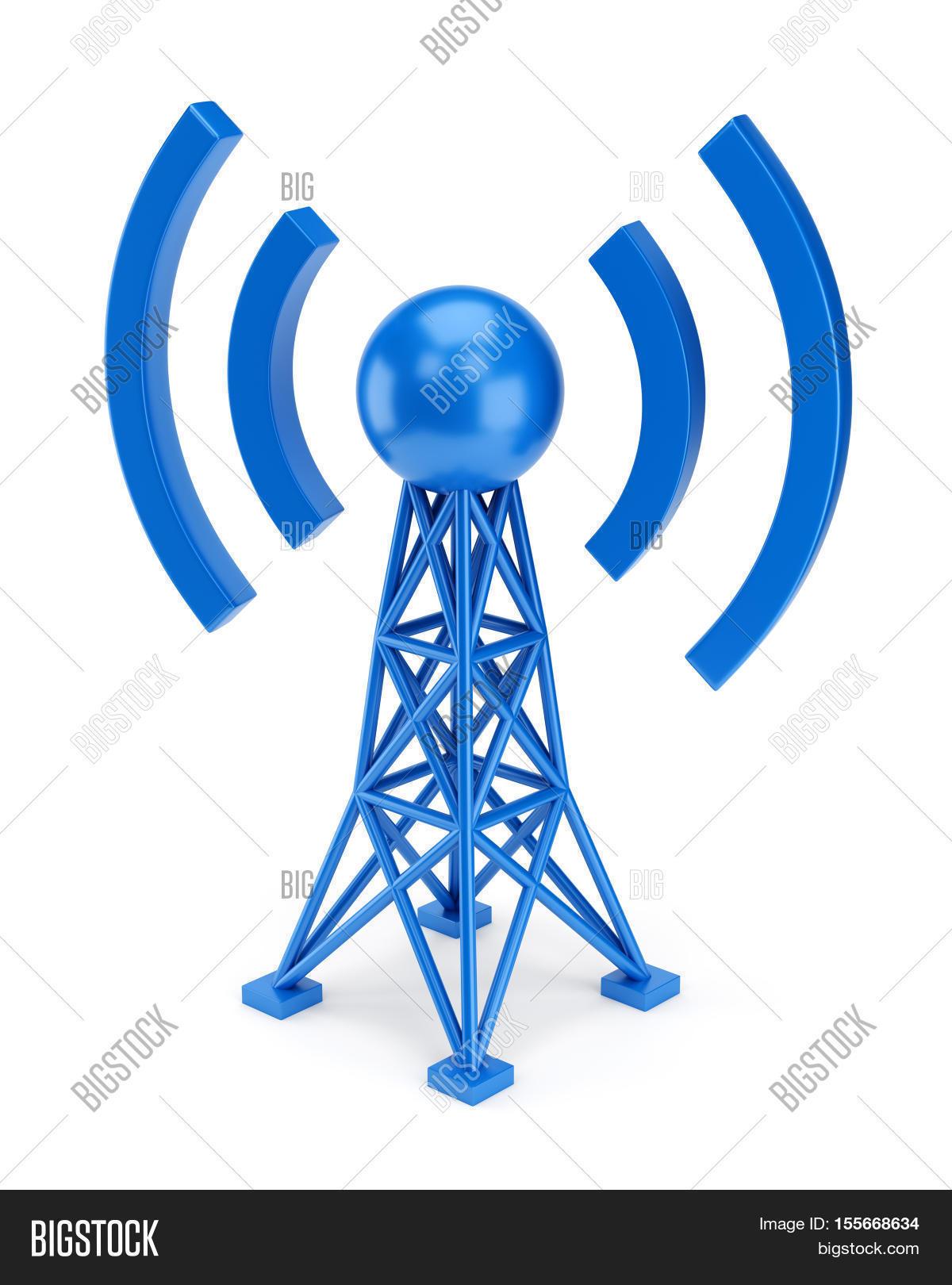 Abstract Radio Antenna Image & Photo (Free Trial) | Bigstock