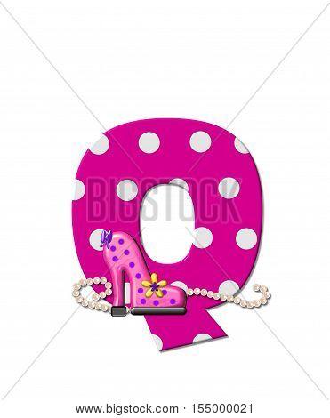 Alphabet Shoe Dive Q