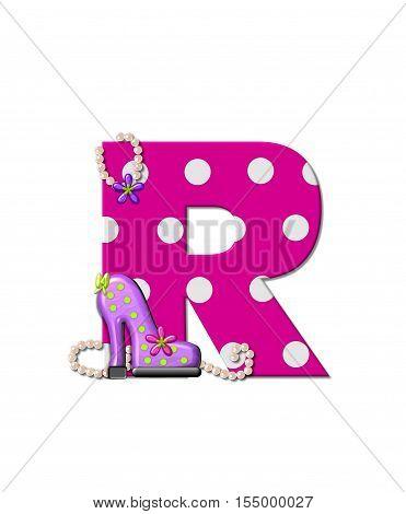 Alphabet Shoe Dive R