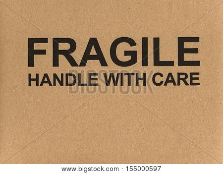 Fragile Handle With Care Label Tag