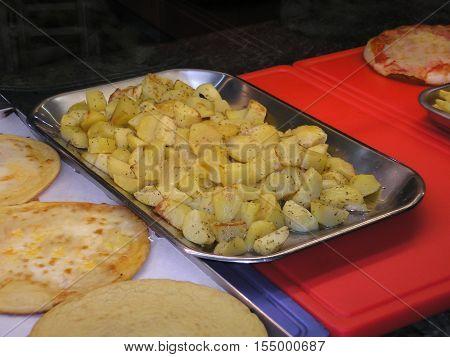 Roasted Potato Vegetables