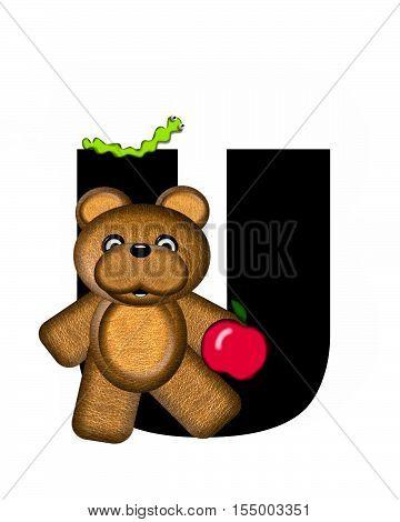 Alphabet Teddy U