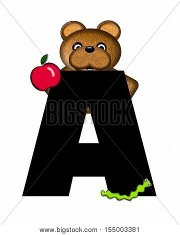Alphabet Teddy A
