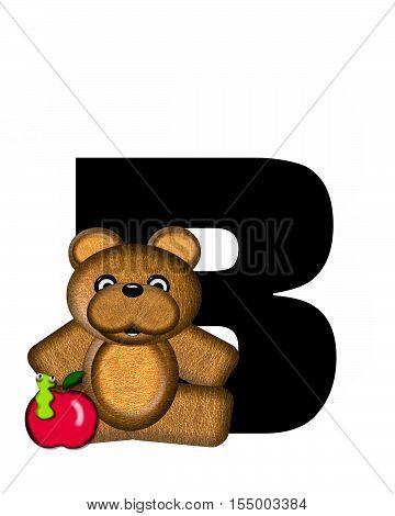 Alphabet Teddy B