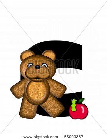 Alphabet Teddy C