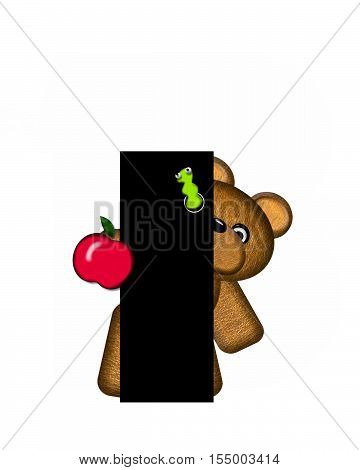 Alphabet Teddy I