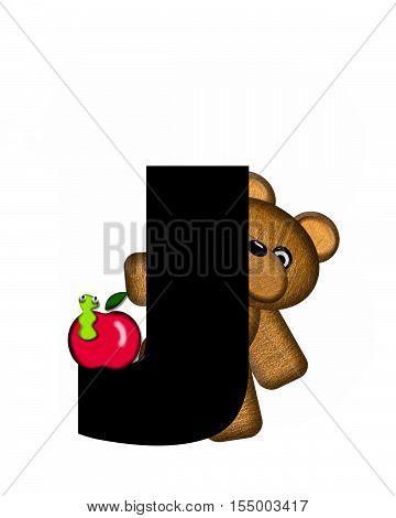 Alphabet Teddy J
