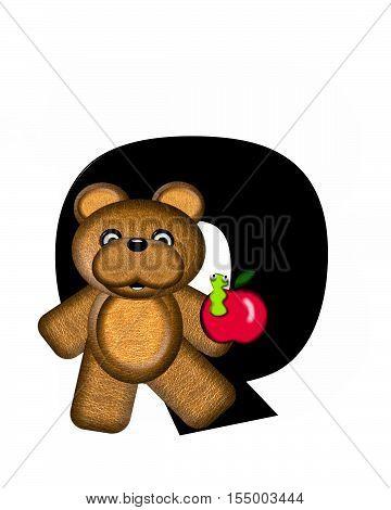 Alphabet Teddy Q