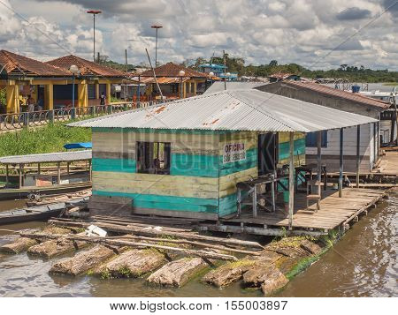 Floating Houses On Amazon