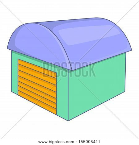 Warehouse icon. Cartoon illustration of warehouse vector icon for web design