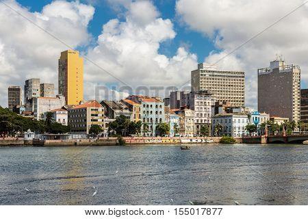 The beautiful city of Recife in Pernambuco, Brazil