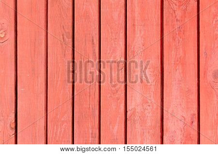 Red weathered wooden background no. 3 as background