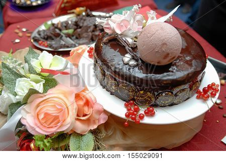 The Abundance Of A Variety Of Sweets Catering Service Sweet Table