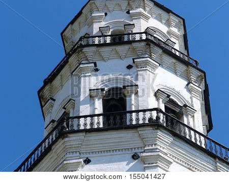 Nevyansk leaning tower was built in 1732. This is the most famous architectural structure in the Middle Urals. Nevyansk - a city in Russia in Sverdlovsk region
