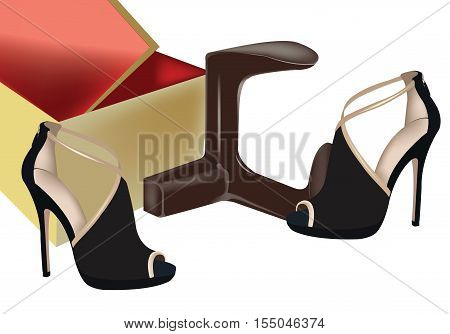 black female shoes with high heels black female shoes