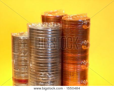 Different Rolled Coins