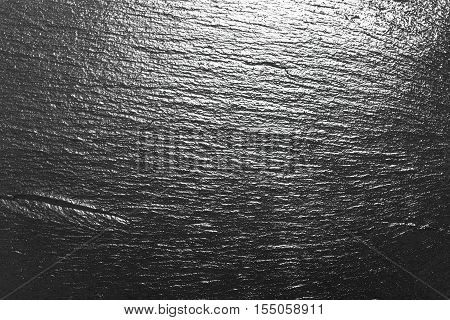 dark black slate structure of natural shale