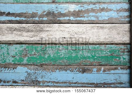 Close-up old wood texture for background - Stock Photo