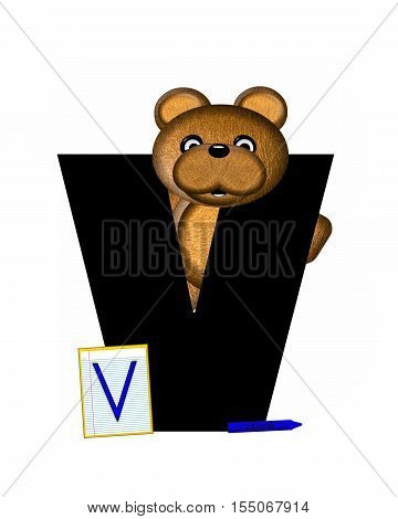 Alphabet Teddy Homework V