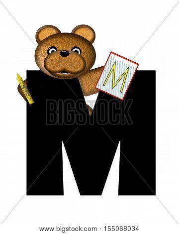 Alphabet Teddy Homework M