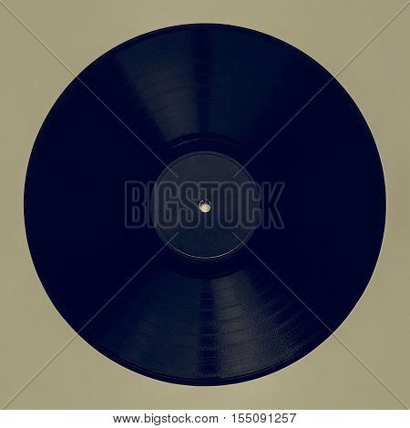 Vintage Looking Vintage 78 Rpm Record With Gray Label