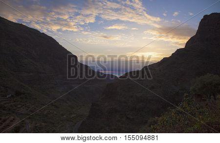 Gran Canaria,  Guayadeque Ravine