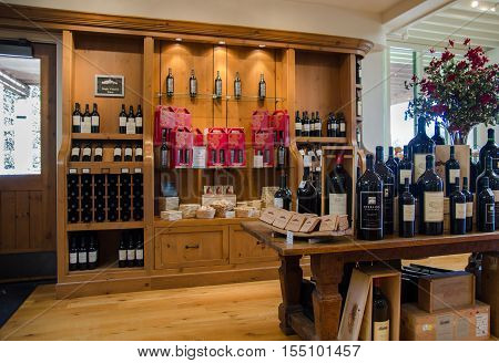 The Wine Store Of Sterling Vineyards Winery