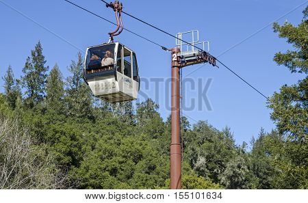 Sterling Winery Cable Car