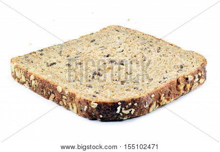 Slice Of Organic Healthy Multigrain Bread