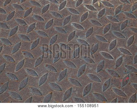 Striped Metal Seamless metal texture Table of steel sheet.