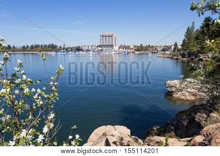 The Coeur D' Alene Resort And Marina