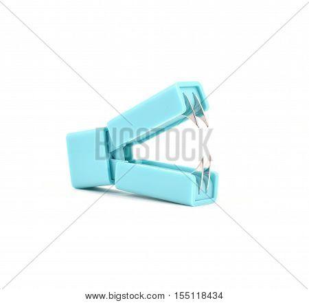 Small Light Blue Staple Remover